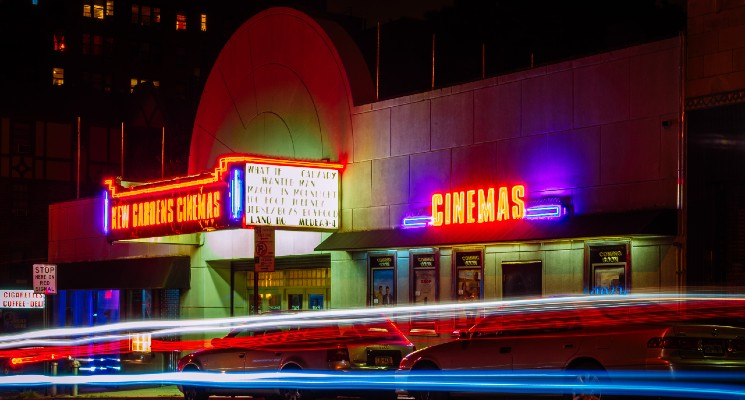 cinema pictured in timelapse photography style best movie soundtracks blog benner