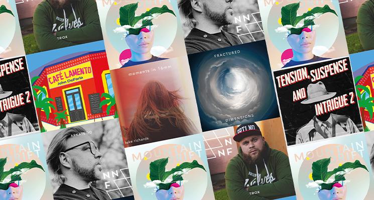 album artwork collage