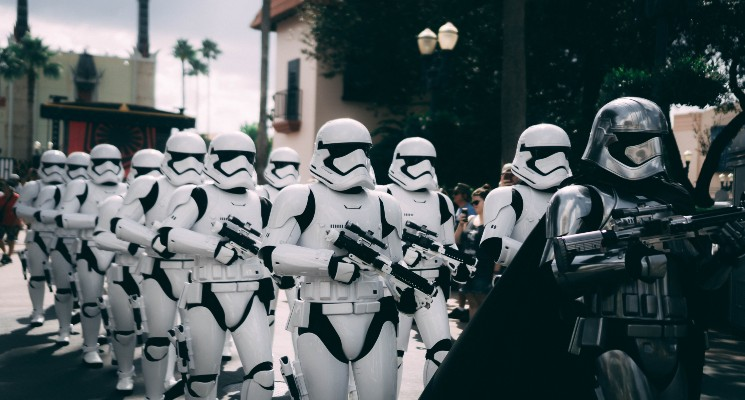 storm troopers marching star wars soundtrack