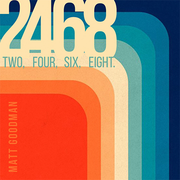 2465 in numbers and letters on a multicoloured background