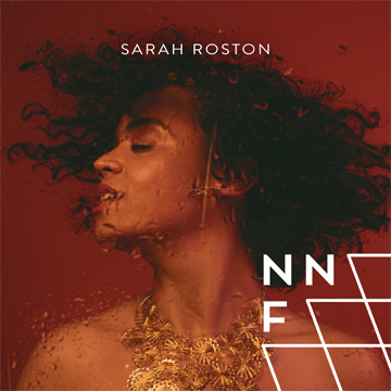 nnf sarah roston on red background album artwork