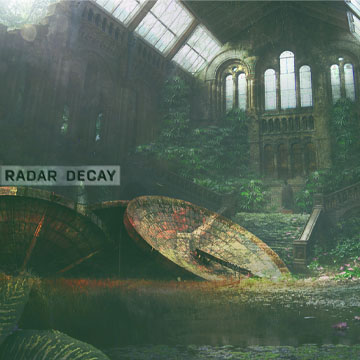 overgrown garden within church walls big satellite radar decay pete davis