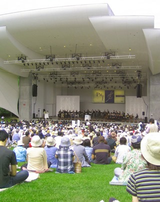 Pacific Music Festival outdoor concert at Sapporo Art Park
